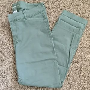 Old Navy size 10 green pants